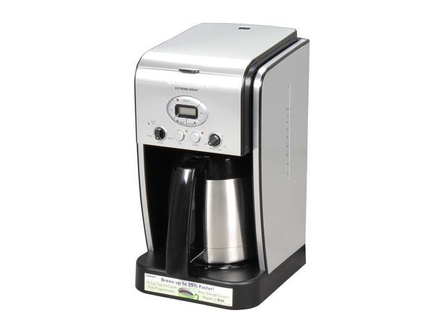 Cuisinart DCC-2750 Black/Steel Extreme Brew 10-Cup Thermal Programmable Coffeemaker
