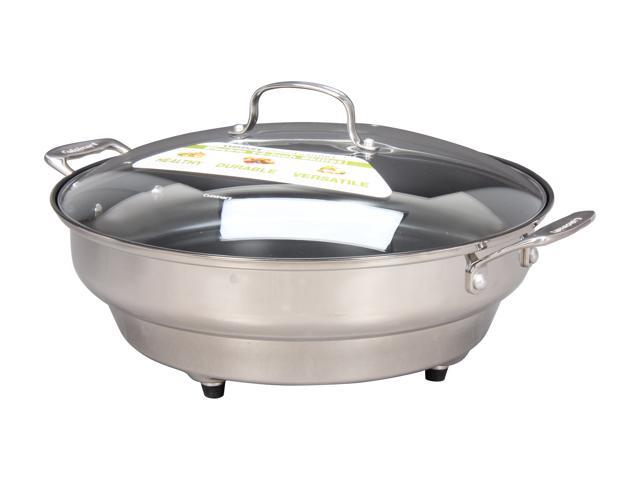 Cuisinart CSK-250 Stainless Steel GreenGourmet Electric 14-inch Skillet