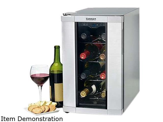 Cuisinart CWC-800 8-Bottle 8 Bottle Private Reserve Wine Cellar Silver