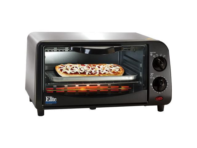 Maxi-Matic Elite EKA-9210XB Black 4 Slice Toaster Oven Broiler