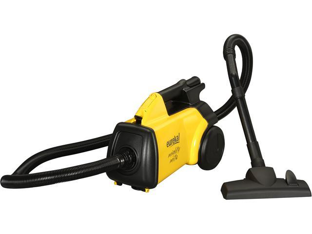 EUREKA 3670G Boss Mighty Mite Lightweight Canister Vacuums Yellow