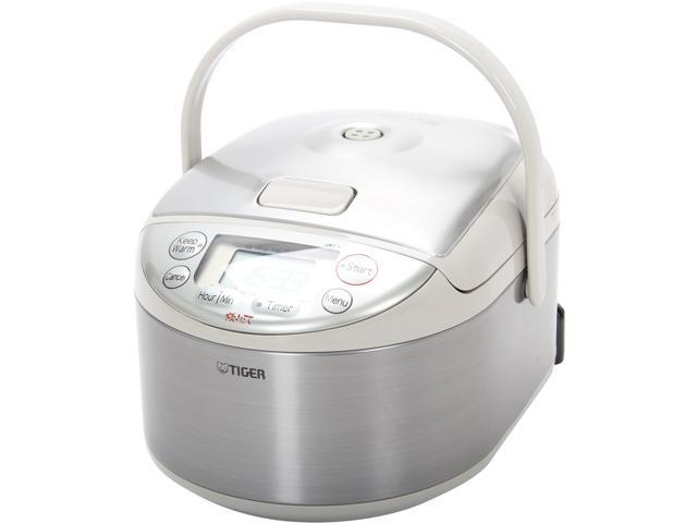 TIGER JAY-A55U Gray/Stainless Steel Micom rice cooker - warmer