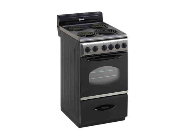 Avanti 1 Oven And 4 Elements Cooking Range ER2002CSS Black