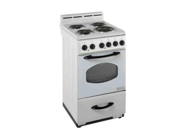 Avanti 1 Oven And 4 Cooking Elements Range ER2001G White