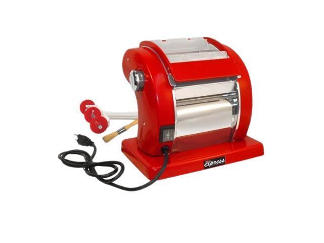 WestonSupply 01-0601-W Red Roma Express Electric Pasta Machine 2 Speeds