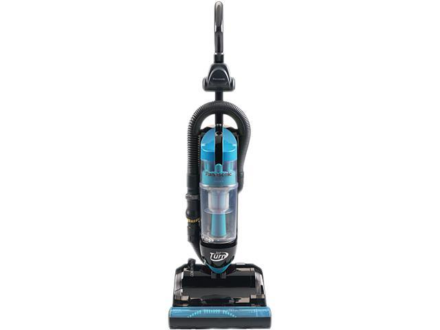 Panasonic MC-UL810 Bagless Upright Vacuum Cleaner With Swivel Steering, Blue/Black