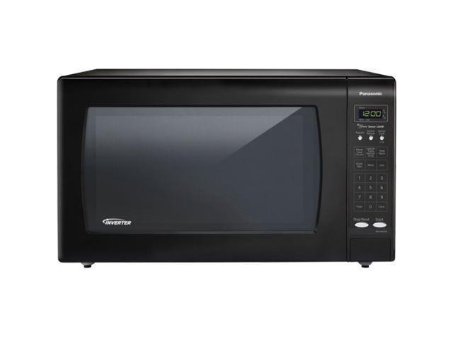 Panasonic 1250 Watts 2.2cf Microwave Black NN-SN933B Black