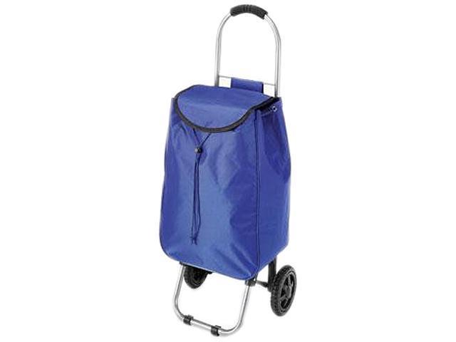 Whitmor 6342-4647-BLUE Rolling Bag Cart Blue