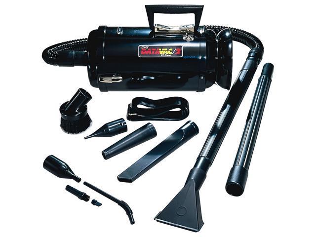 Metropolitan MDV-3BA DataVac Pro Series & Micro Cleaning Tools Vacuum, Black