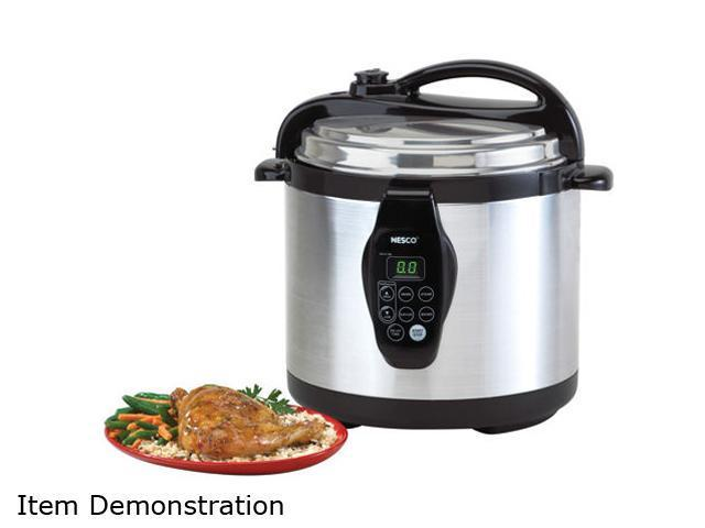Nesco PC6-25 6 Liter 3-in-1 Digital Pres. Cooker