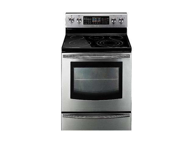 SAMSUNG 5.9 cu. ft. Freestanding Flex Duo Oven with Radiant Electric Range FE710DRS Stainless Steel