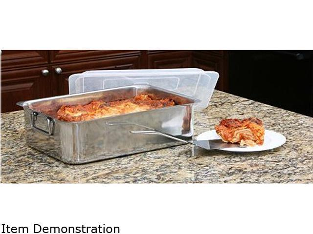 Cookpro 531 4-Piece Roaster/Lasagna Pan Stainless steel