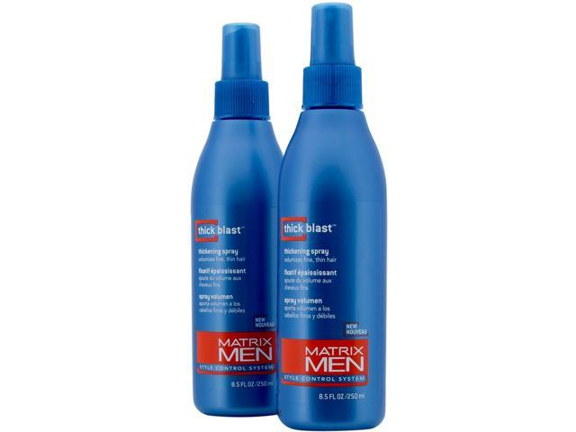 Matrix Men Thick Blast Hair Thickening Spray - Twin Pack 8.5 oz bottles