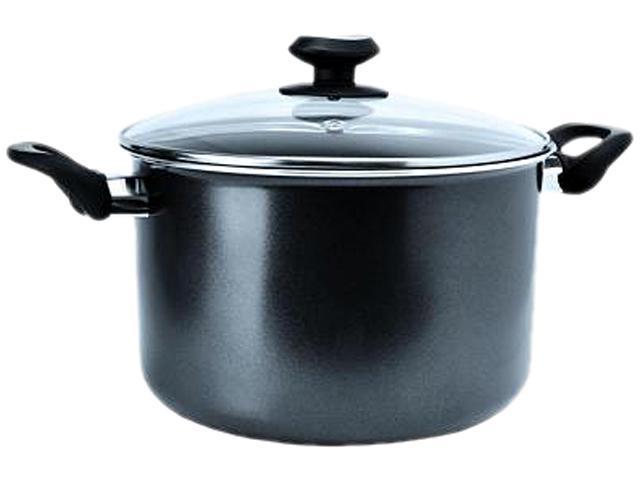 EEGY-4508 Elements 8 Qt. Stock Pot - Grey