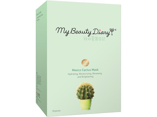 My Beauty Diary Mask-074364 Mexico Cactus Mask 10 Count