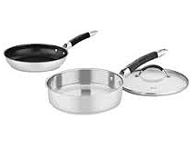 Weight Watchers WWS3-2424NS 3 SAUTE & SKILLET SET