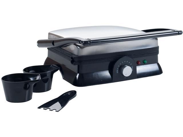 Chef Buddy 82-SW73 Large Non-Stick Grill and Panini Press