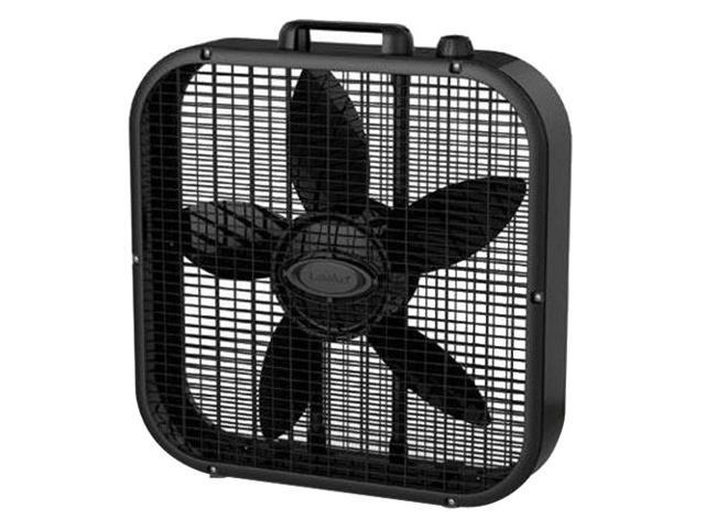 LASKO B20401 20in Box Fan 3spd Black