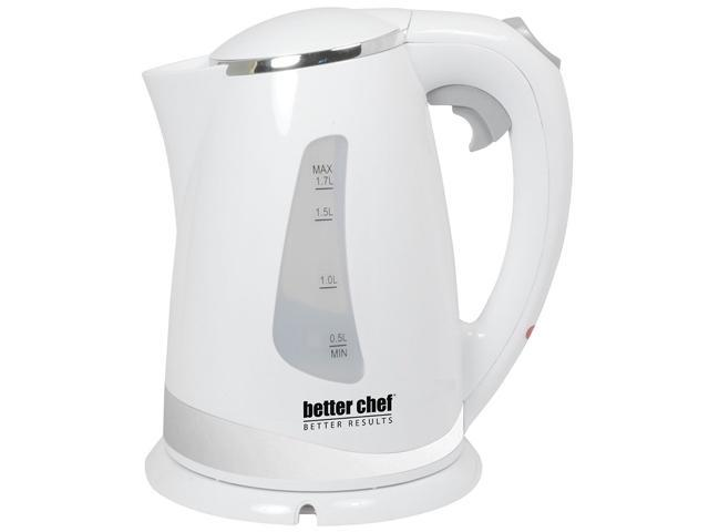 Better Chef IM-145W White Cordless Electric Kettle
