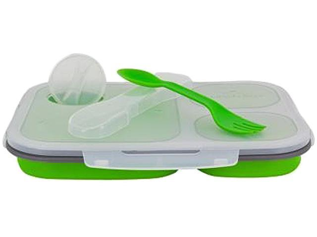 Smart Planet EC-34LG Large Collapsible Meal Kit - Green