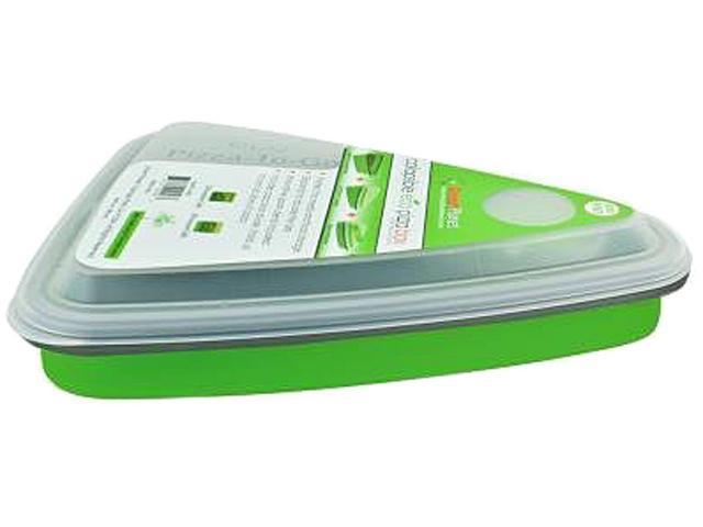 Smart Planet EC-34SPIZG Collapsible Pizza Box - Green, 44oz, 2 Slice