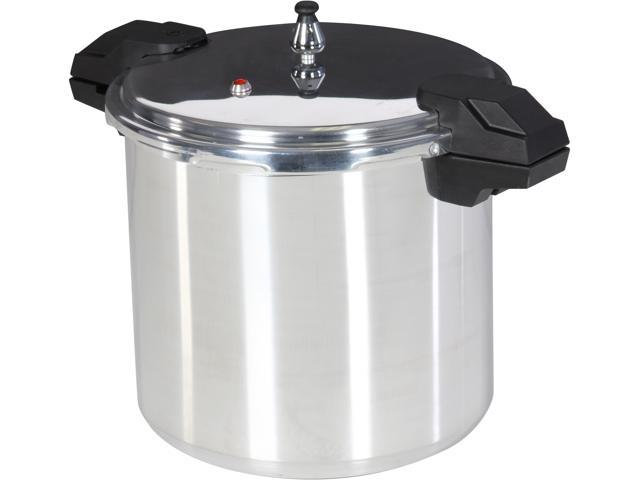 Mirro 92122A Polished Aluminum Dishwasher Safe 22-Quart Pressure Cooker Canner Cookware