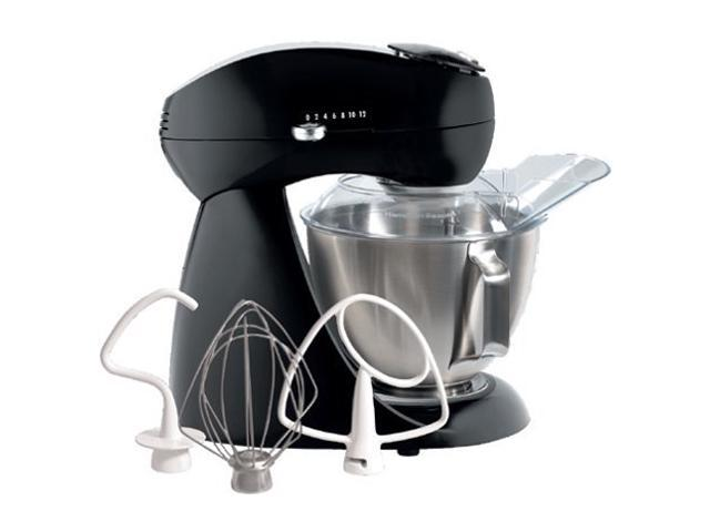 Hamilton Beach 63227 Eclectrics Licorice All-Metal Stand Mixer Black