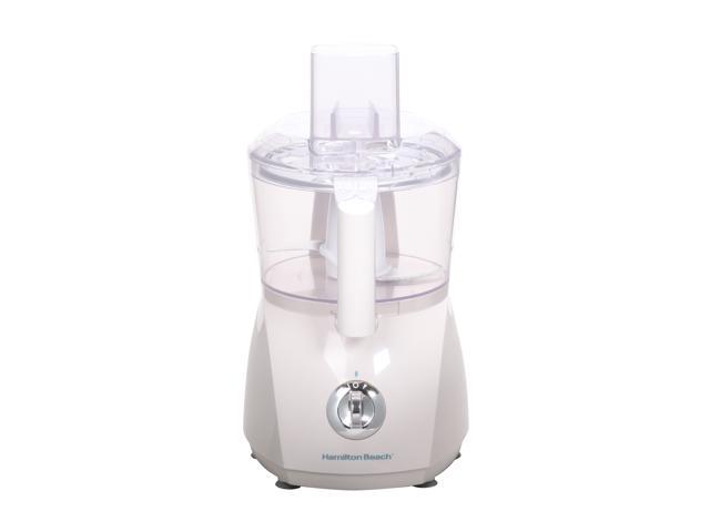 Hamilton Beach 70610 White ChefPrep 500 Watt Food Processor 2 Speeds