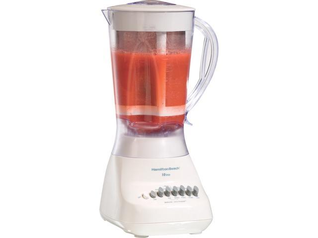 Hamilton Beach 50162 56 oz. Jar Size Aguas Frescas Blender 10 speeds