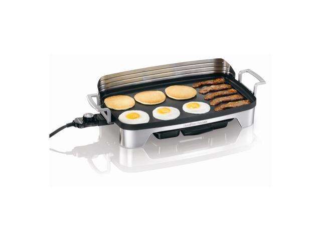 Hamilton Beach 38541 Silver Premiere Cookware Electric Griddle