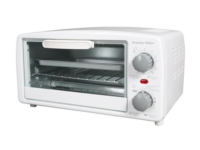 Proctor Silex 31116 White Toaster Oven Broiler