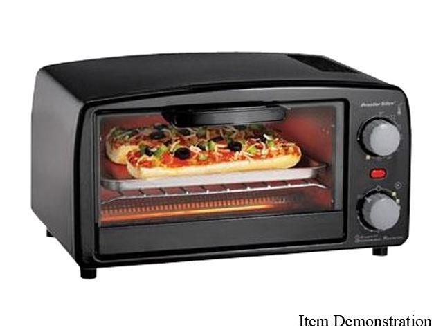 Proctor Silex 31118 Black Extra-Large Toaster Oven Broiler