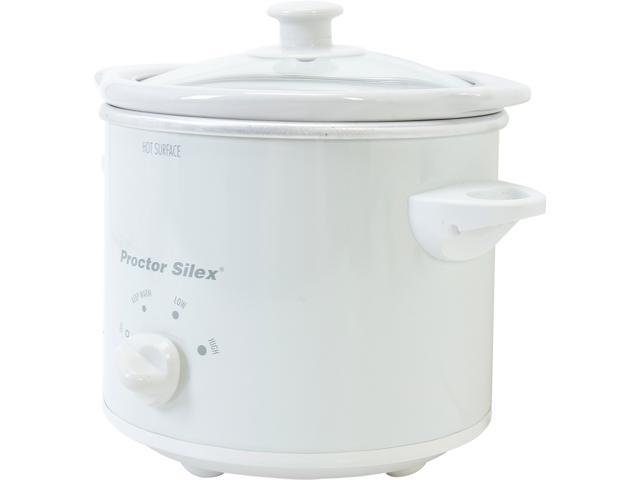 Hamilton Beach 33015Y White 1.5 Qt. 1.5 Qt. Slow Cooker