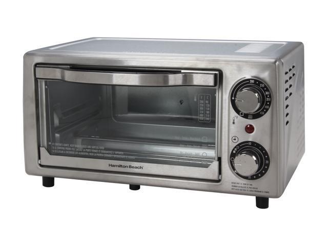 Hamilton Beach 31138 Stainless Steel Stainless Steel 4 Slice Toaster Oven