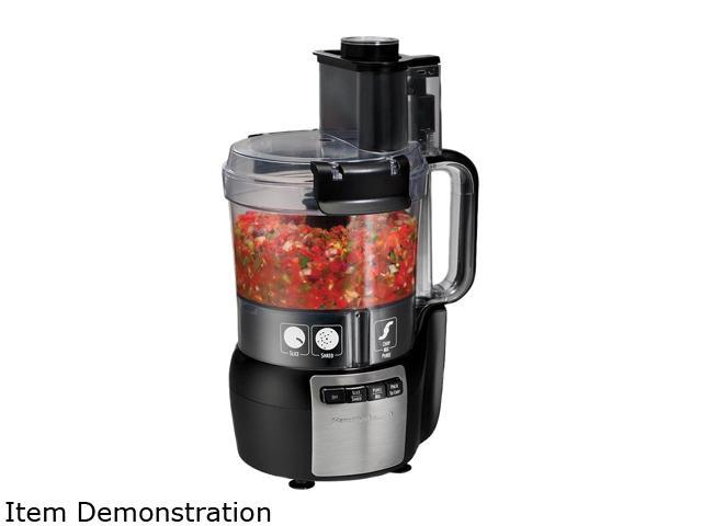 Hamilton Beach 70720 Stack & Snap 10 Cup Food Processor