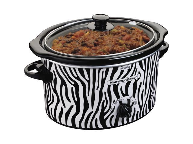 Hamilton Beach 33238 3 Qt. Patterned Slow Cooker