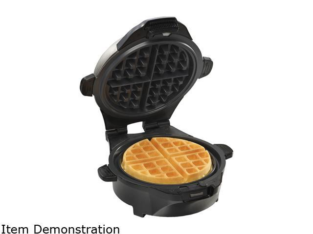 Hamilton Beach 26046 Black The Breakfast Master Skillet and Waffle Maker