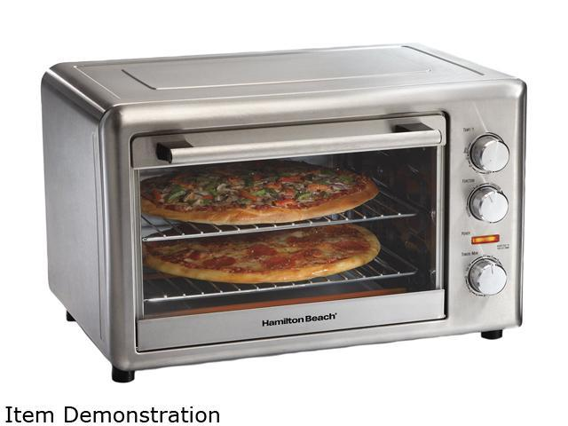 Hamilton Beach 31103A Stainless Steel Convection Oven/Rotisserie