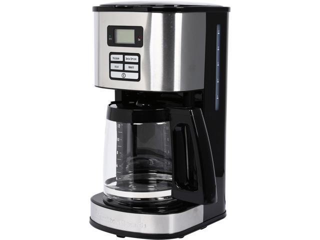 Hamilton Beach 49618 Black 12 Cup Programmable Coffeemaker