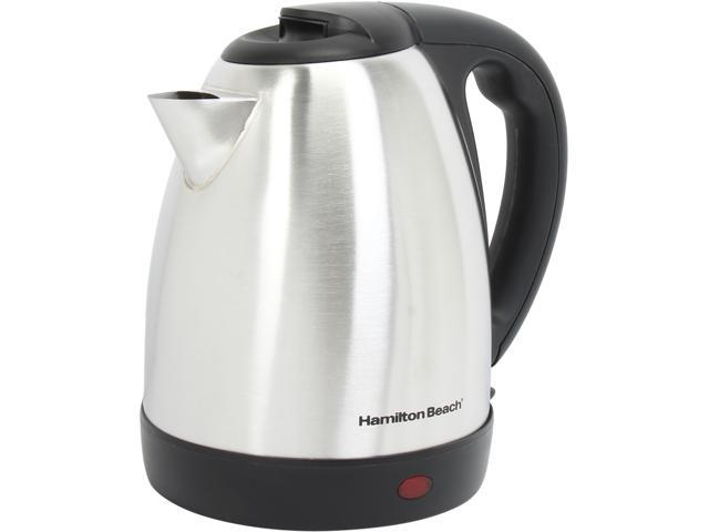 Hamilton Beach 40882E Stainless Steel/Black Stainless Steel 7.2-Cup Kettle
