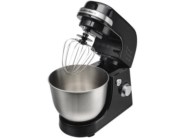 Hamilton Beach 63390 Stand Mixer Black and Stainless Steel