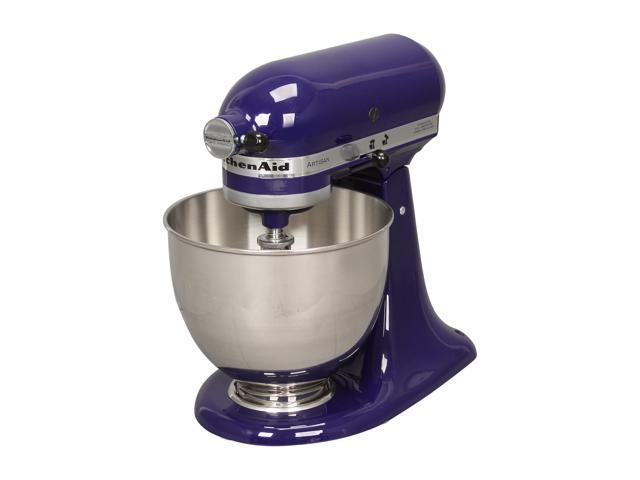 KitchenAid KSM150PSBU Artisan Series 5-Quart Tilt-Head Stand Mixer Cobalt Blue