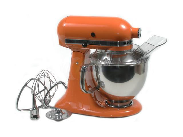 KitchenAid KSM150PSTG Artisan Series 5-Quart Tilt-Head Stand Mixer Tangerine