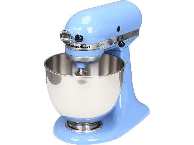 KitchenAid KSM150PSCO Artisan Series 5-Quart Tilt-Head Stand Mixer Cornflower Blue
