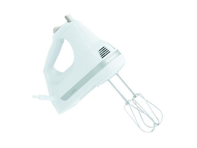 KitchenAid KHM5APWH 5-Speed Ultra Power Hand Mixer White