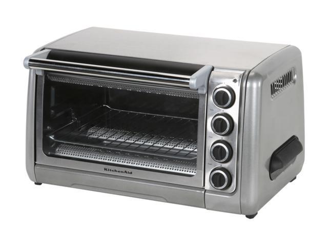 KitchenAid KCO111CU Contour Silver 10 inch Countertop Oven