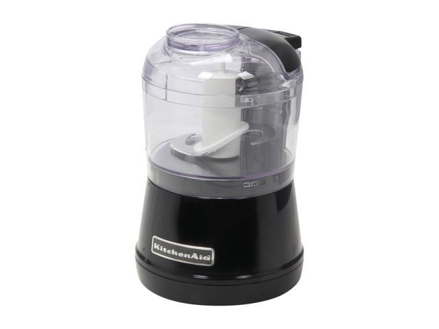 KitchenAid KFC3511OB Onyx Black 3.5 Cup Food Chopper 2 speeds