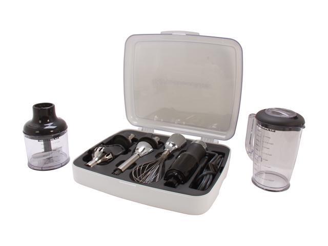 KitchenAid KHB2561OB Onyx Black 5-Speed Hand Blender 5 speeds