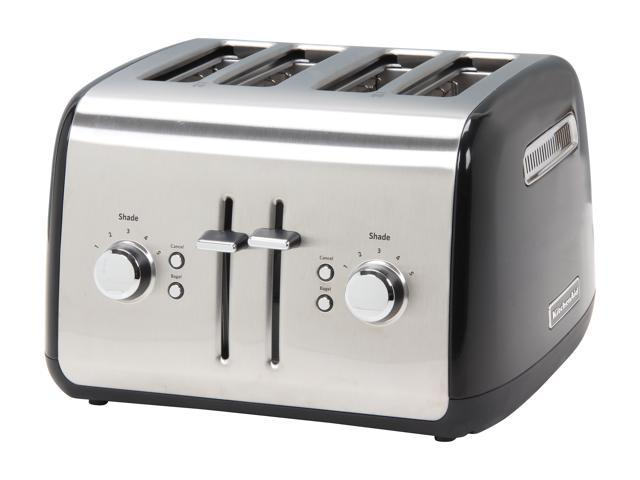 KitchenAid KMT4115OB Onyx Black 4 Slice Toaster