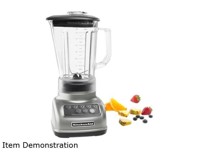 KitchenAid KSB1570SL Silver 56 oz. Jar Size Classic Blender 5 speeds